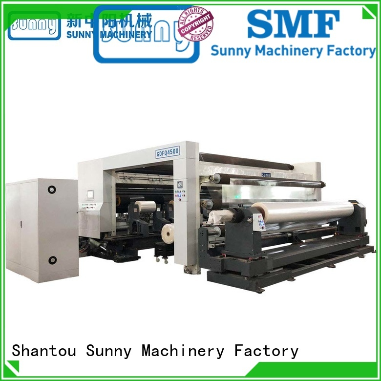 Sunny high quality rewinding machinery wholesale for production