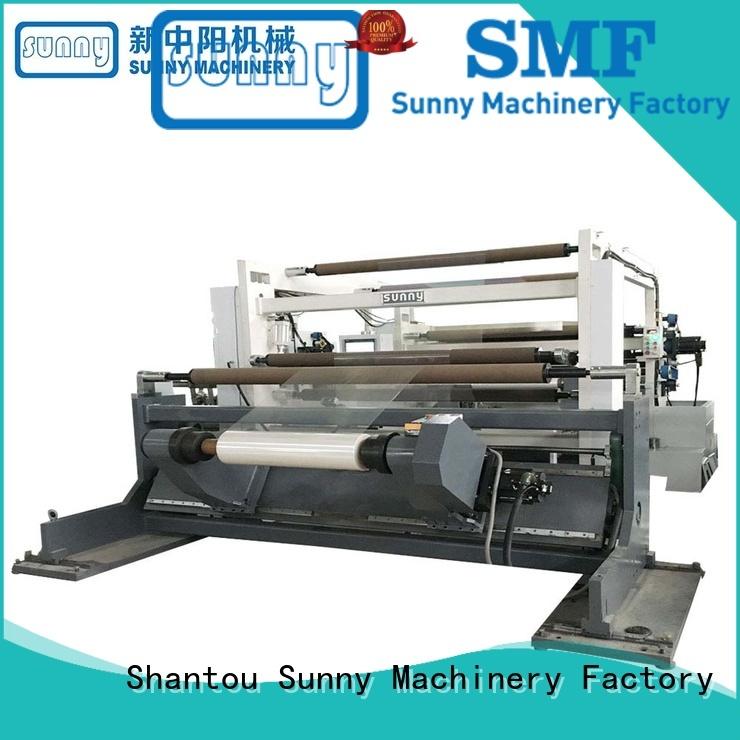roll paper slitter rewinder jumbo production Sunny