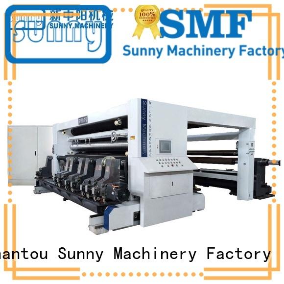 Sunny digital slitting and rewinding machine gantry for factory