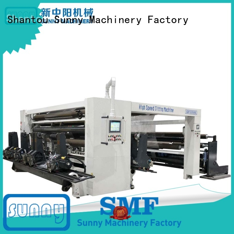 Sunny digital slitter rewinder quality for production