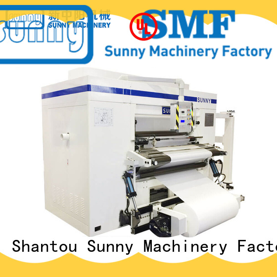 Sunny digital slitting machine for paper quality bulk production