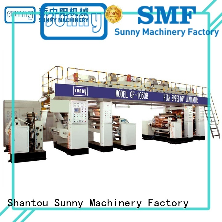 dual extrusion coating lamination machine extrusion customized for packaging
