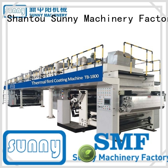 Sunny rewind extrusion coating lamination plant customized for protection film