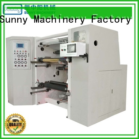 thermal slitting rewinding machine model manufacturer for sale