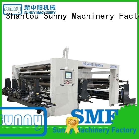 Sunny high quality rewinder slitter machine wholesale for factory