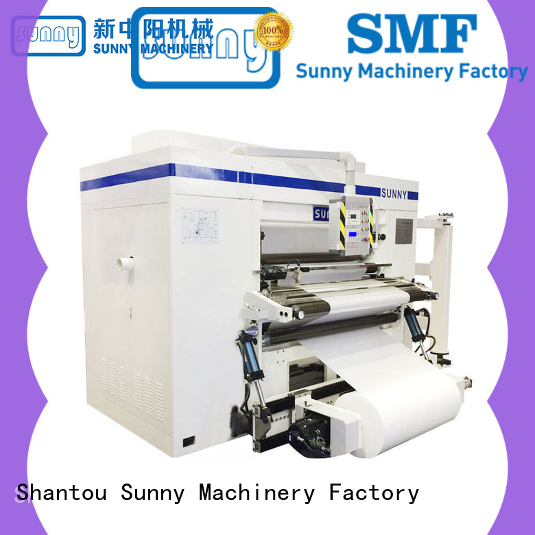 Sunny film slitting rewinding machine supplier for factory