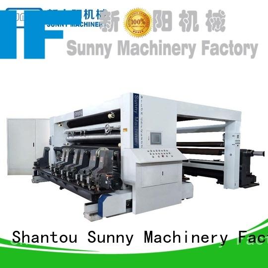 Sunny line rewinder slitter manufacturer for factory