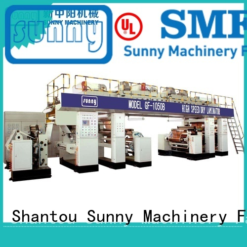 Sunny singlescrew extrusion coating lamination machine supplier for factory