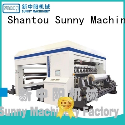 low cost slitting rewinding machine model customized for sale