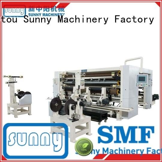 Sunny digital rewind slitting machines customized bulk production