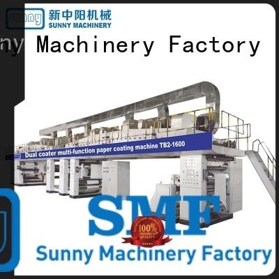 Dual coater paper coating amchine model TB2-1600