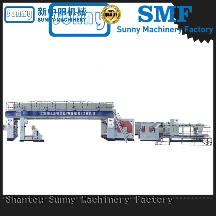 extrusion coating lamination line dry for production Sunny