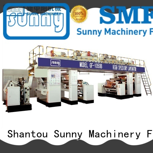 gztb1100 extrusion lamination plant machine for laminating Sunny
