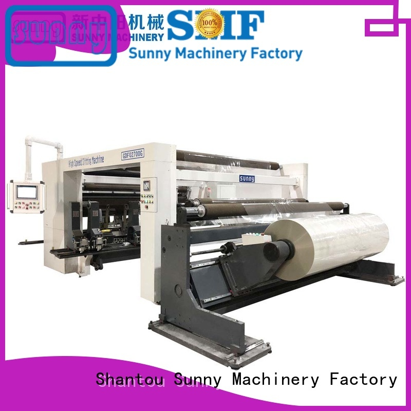Sunny film rewinding machinery manufacturer bulk production