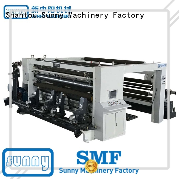 Sunny thermal rewinding machinery manufacturer for sale