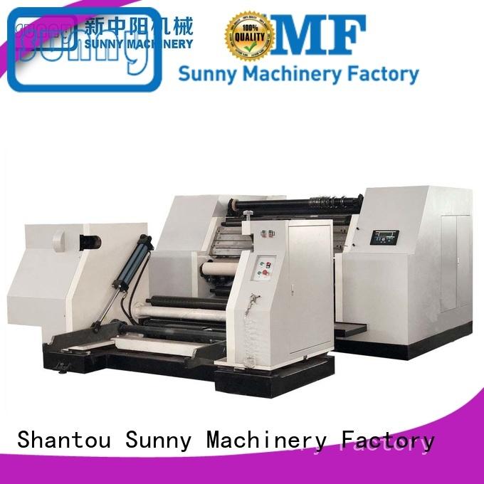 rewind slitting and rewinding machine machine bulk production Sunny