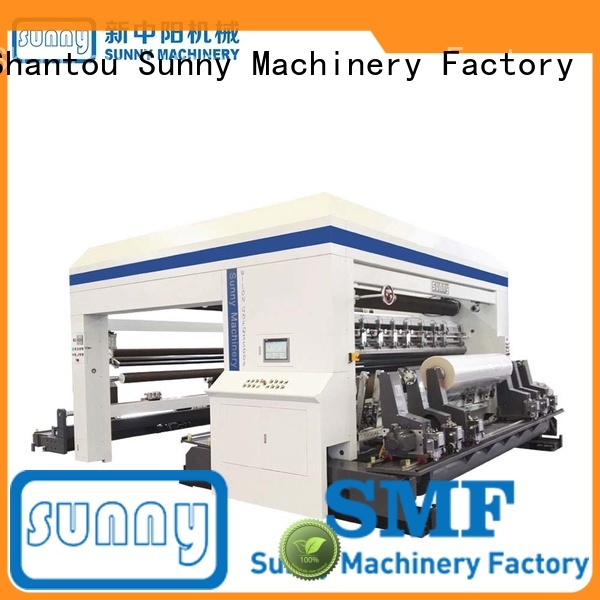 Sunny thermal center driven duplex slitter rewinder manufacturer for sale