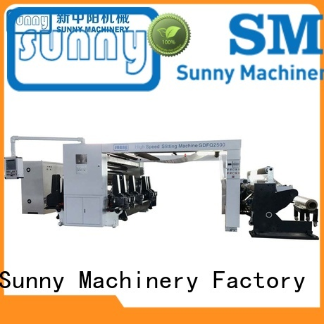 Sunny horizontal slitting rewinding machine supplier at discount