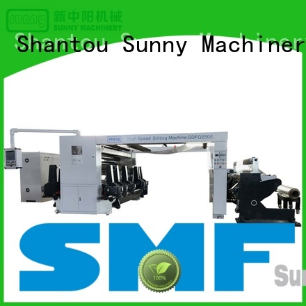 Sunny model rewinder slitter machine customized bulk production