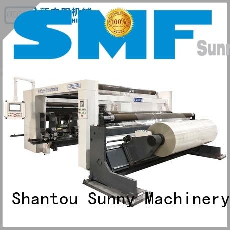 jumbo rewinder slitter line customized for production