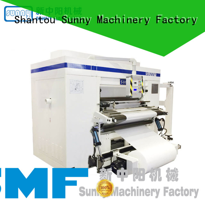 Sunny Sunny rewinder slitter machine supplier for production