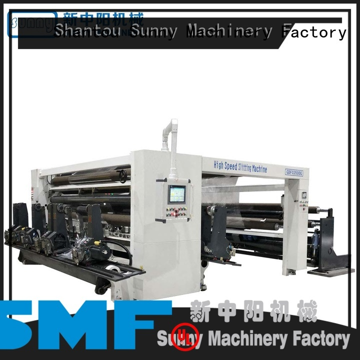 Sunny horizontal slitting rewinding machine manufacturer for sale