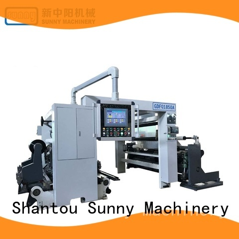 Sunny film slitting rewinding machine customized for production