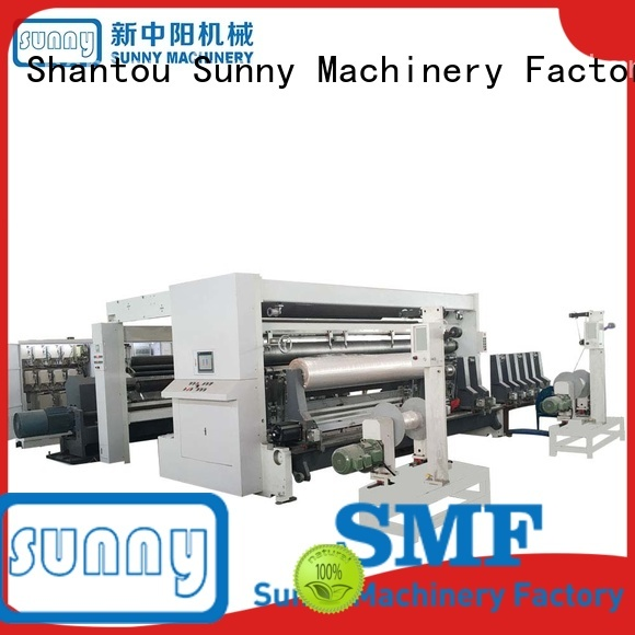 Sunny horizontal rewinder slitter machine customized for factory