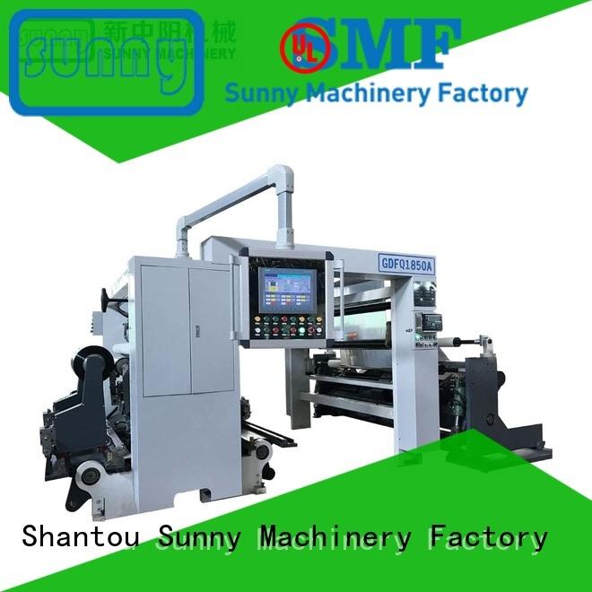 High Speed Rewinder Slitter Machine gantry type GDFQ1850