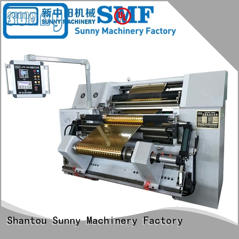 high speed rewinding machinery wholesale for factory Sunny