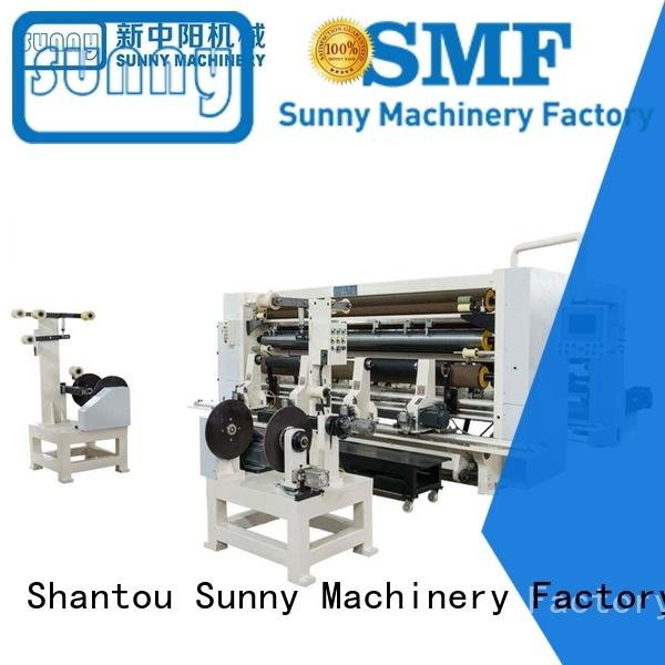 Sunny jumbo slitter rewinder machine customized for sale