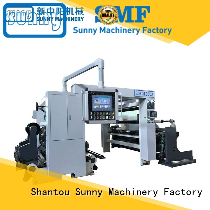 Sunny high speed slitter rewinder customized for sale