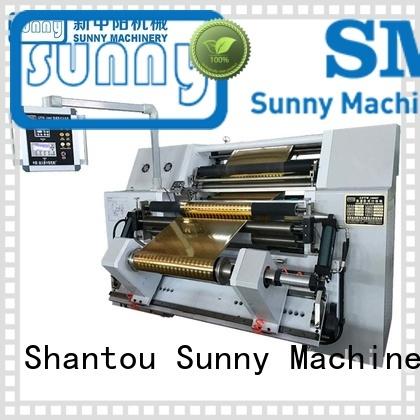 Sunny horizontal slitting rewinding machine manufacturer at discount