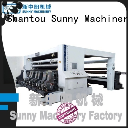 Sunny high speed slitting and rewinding machine supplier for sale