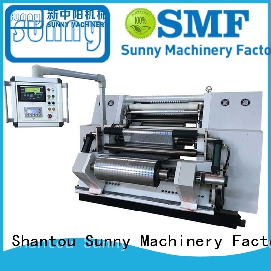 Sunny film rewinding machinery customized for factory