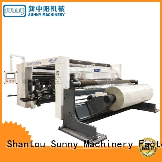 jumbo rewinding machinery stations manufacturer for factory