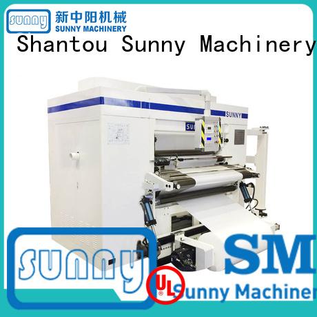 Sunny model paper slitting rewinding machine customized production