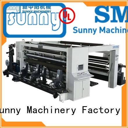 Sunny quality slitting and rewinding machine wholesale for production