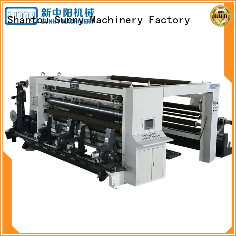Sunny high speed slitting rewinding machine wholesale at discount