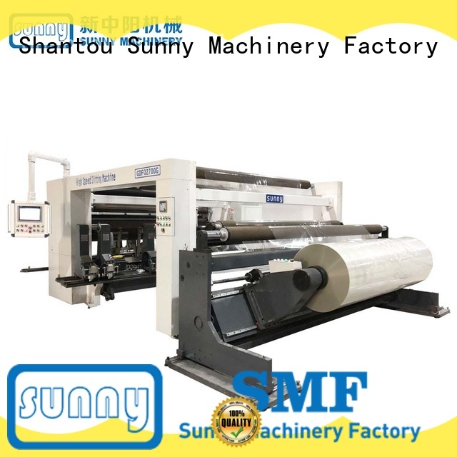 Sunny quality rewind slitting machines customized at discount