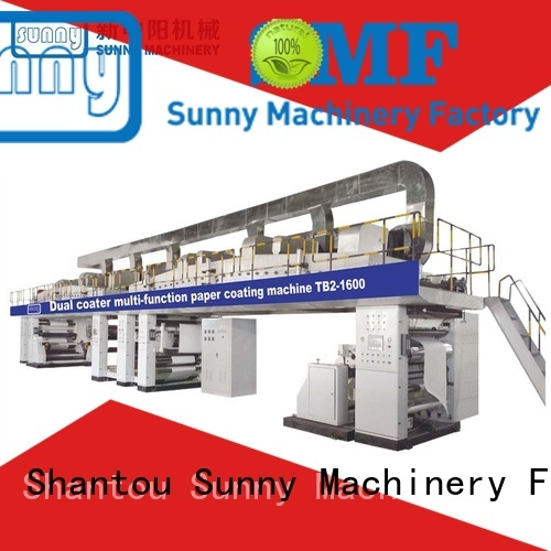 Sunny dual extrusion coating lamination plant customized for packaging