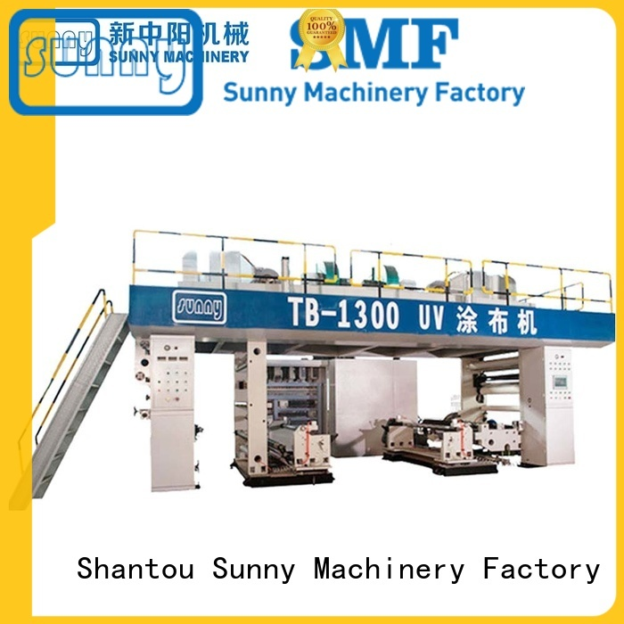 Sunny rewind fabric lamination machine manufacturer wholesale for factory