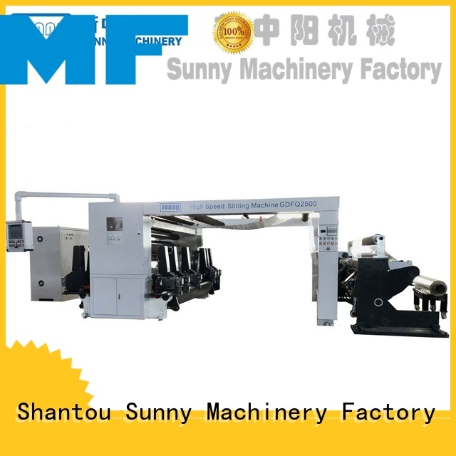 Sunny low cost rewinding machinery customized bulk production