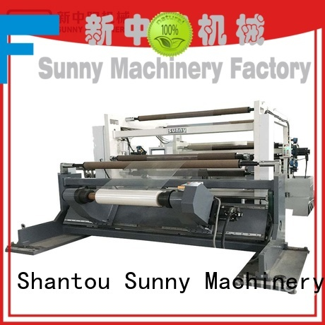 Sunny sunny slitting and rewinding machine supplier for sale