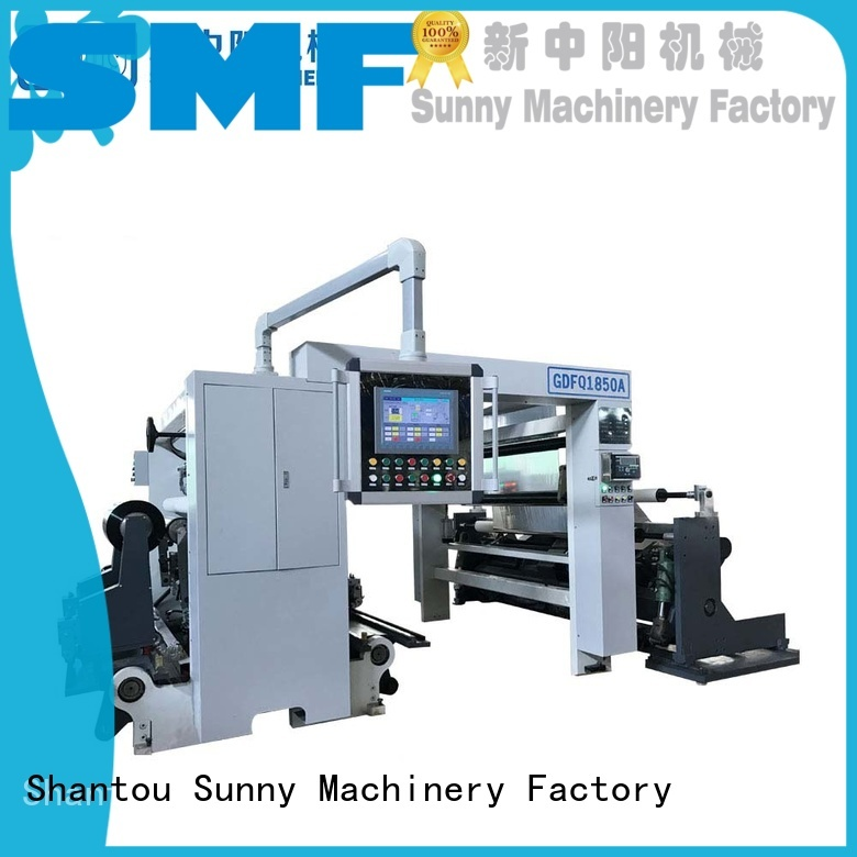 Sunny line rewind slitting machines customized for sale