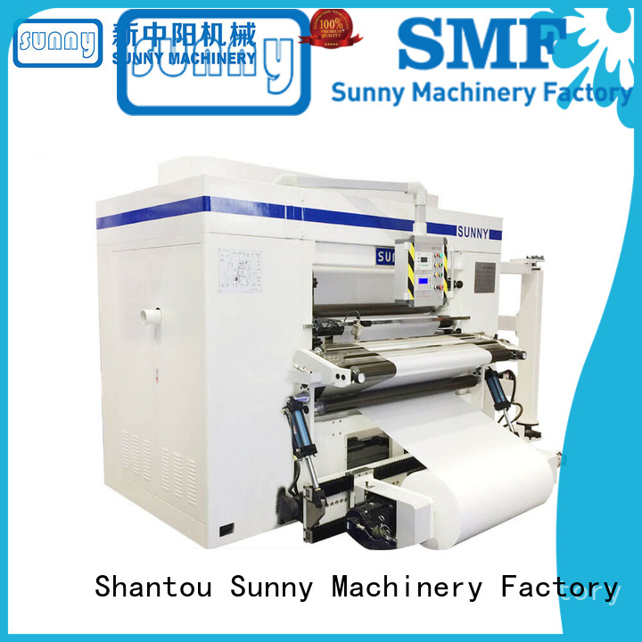gantry slitting and rewinding machine manufacturers film bulk production Sunny