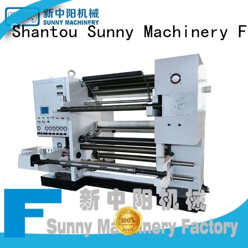 Sunny horizontal rewind slitting machines manufacturer at discount