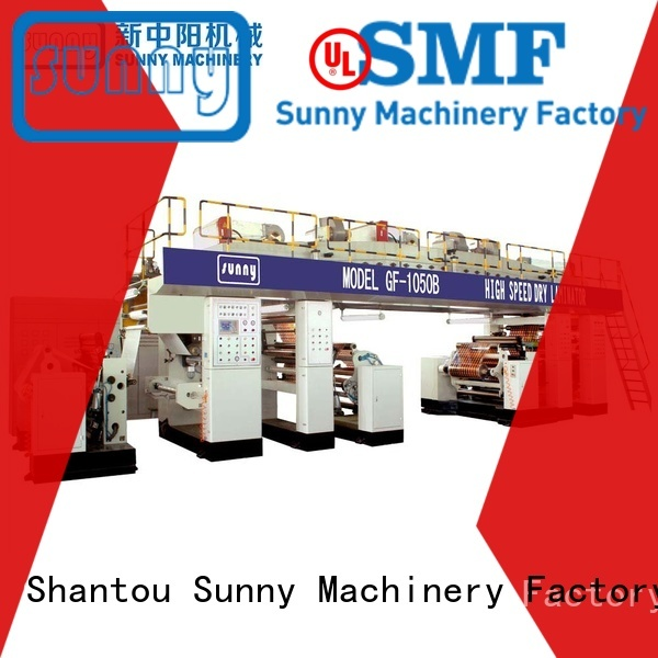 Sunny dual extrusion lamination machine wholesale for protection film