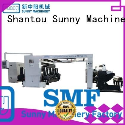 high quality rewind slitting machines film customized bulk production