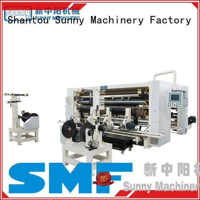 Sunny model slitter rewinder machine manufacturer for factory